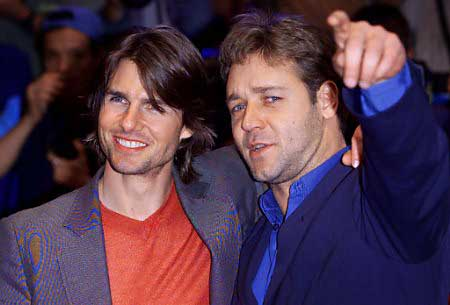 Tom Cruise et Russell Crowe 1