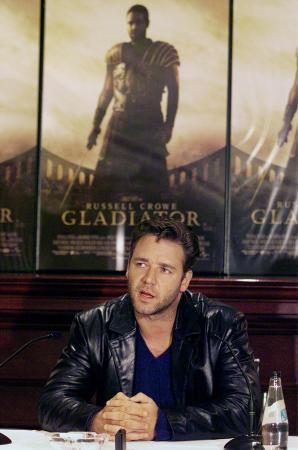 Russell Crowe : conference de presse